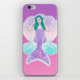 Mermaid Gradient iPhone Skin