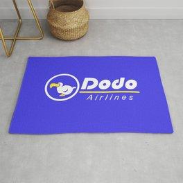 dal dodo airline ac animal crossing Rug