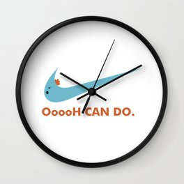 oh can do Wall Clock