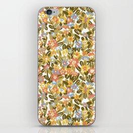 Garden Print iPhone Skin
