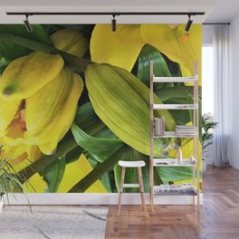 Yellow Lily Promise Wall Mural