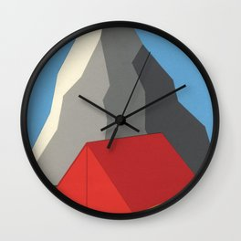 Camp Mount Whitney Wall Clock