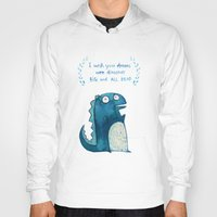 postcard Hoodies featuring Postcard for your enemy by KAA illustration