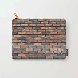 Bricks In The Wall Pattern Carry-All Pouch