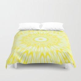 The Sun : Kaleidoscope Mandala Duvet Cover