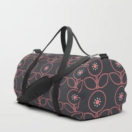 Flora in Grey Duffle Bag