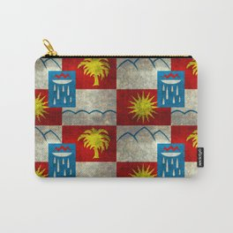 Sochi flag - Vintage version Carry-All Pouch