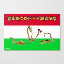 Happy Cinco de Mayo from Arizona Canvas Print