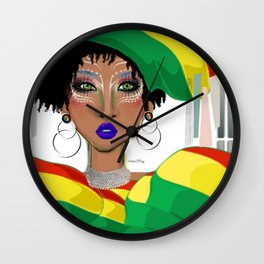 JAMA QUEEN Wall Clock