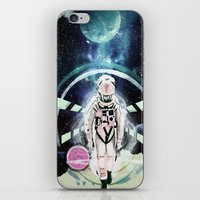 2001 iPhone & iPod Skins featuring 2001: A Space Odyssey by Andreea Benu