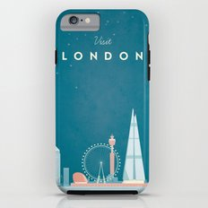 Vintage London Travel Poster Tough Case iPhone 6