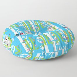 Cute pair of koalas Floor Pillow