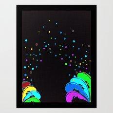 La Vida Es Un Carnaval Art Print