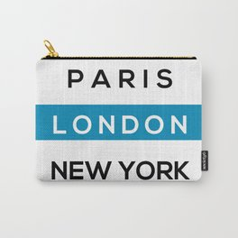 London Blue Carry-All Pouch