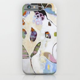 """Letting Go"" Original Painting by Flora Bowley iPhone Case"