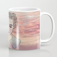 dreamer Mugs featuring DREAMER by Laure.B