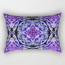 Echeveria Bliss Two Rectangular Pillow