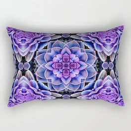 Echeveria Bliss Two Rectangular Pillow