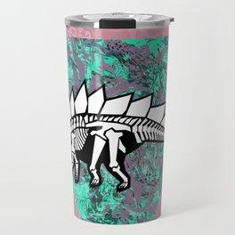 Stegosaur Fossil Travel Mug