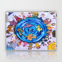 We are all one being Laptop & iPad Skin
