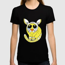 Hand drawn funny looking cat T-shirt