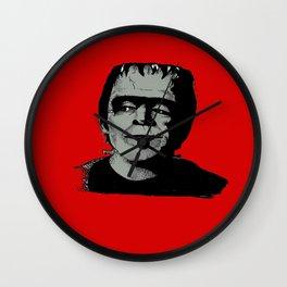 Herman Munster - Red Wall Clock