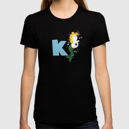 k for kelpie T-shirt