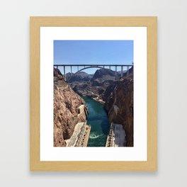 Hoover Dam Framed Art Print