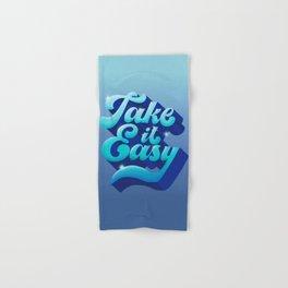 TAKE IT EASY Hand & Bath Towel