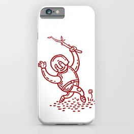 Happy Knight  iPhone Case