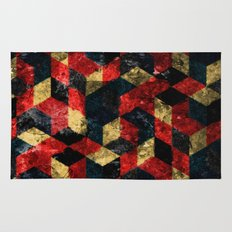Abstract Berries Pattern Rug