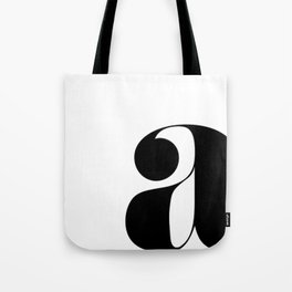 """letter """"a"""" Tote Bag"""