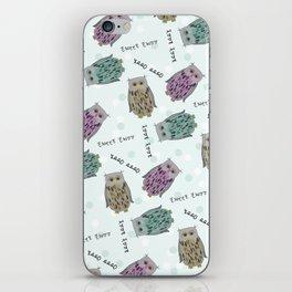 Tweet Twooo iPhone Skin