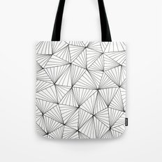 Stripe Triangles Tote Bag
