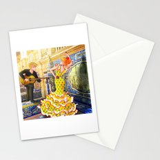 Spain Travel Stationery Cards