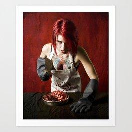 butcheress Art Print