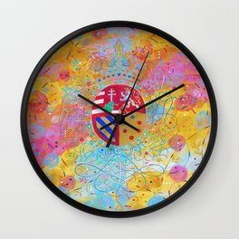 Arms of Marie Antoinette Wall Clock