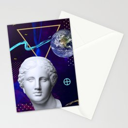 Ancient Gods and Planets: Earth Stationery Cards