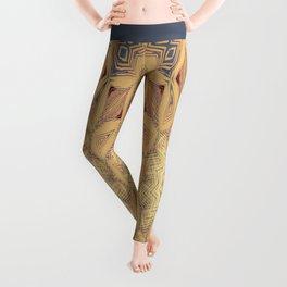Native Sun Ochre Leggings