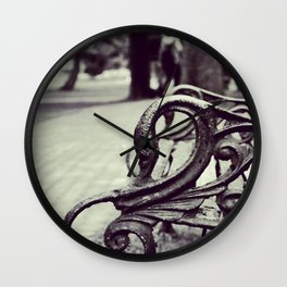 Glaciers Wall Clock