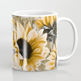 Dreamy Autumn Sunflowers Coffee Mug