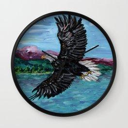 Soar Like An Eagle Wall Clock