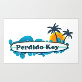 Perdido Key - Florida. Art Print