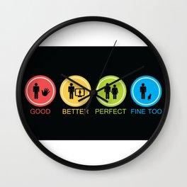 Options Wall Clock