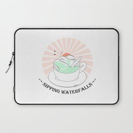 Sipping waterfalls Laptop Sleeve