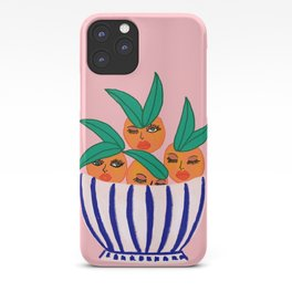 Sassy Oranges In A Bowl iPhone Case