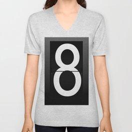 Eight Unisex V-Neck