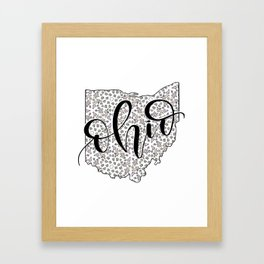 Ohio Love Framed Art Print