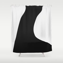 Between Fluff And Arms Shower Curtain