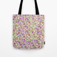 Roses Pattern Tote Bag